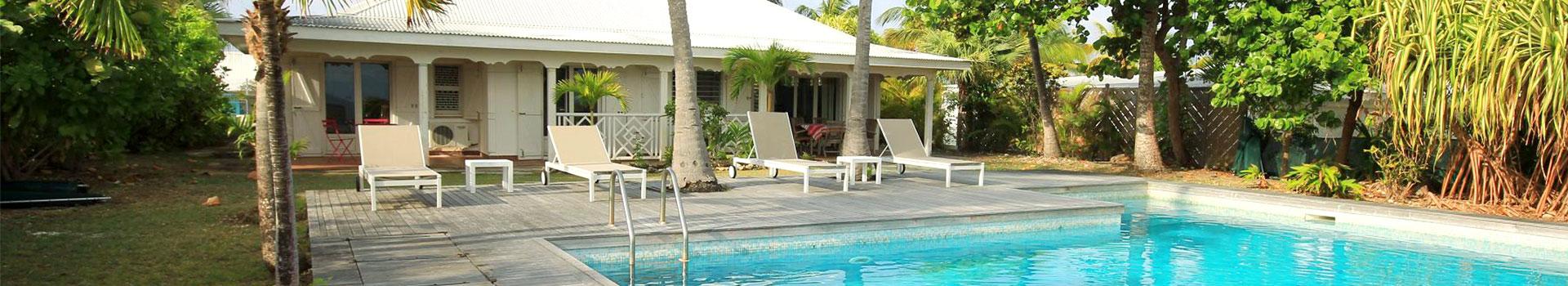 Location saisonnière d'une villa créole avec vue panoramique sur la mer et piscine privative - Villa Caraïbes, www.villacaraibes.fr