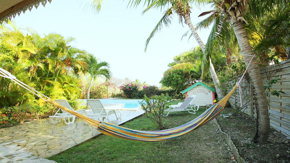Hamak - Villa Caraïbes - Location de villas et maisons en Guadeloupe - www.villacaraibes.fr