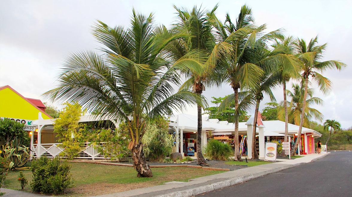 Entrée de la résidence - Villa Caraïbes - Location de villas et maisons en Guadeloupe - www.villacaraibes.fr