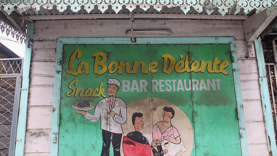 Devanture de restaurant - Point à Pitre - Villas Caraïbes - Location de villas et maisons en Guadeloupe - www.villacaraibes.fr