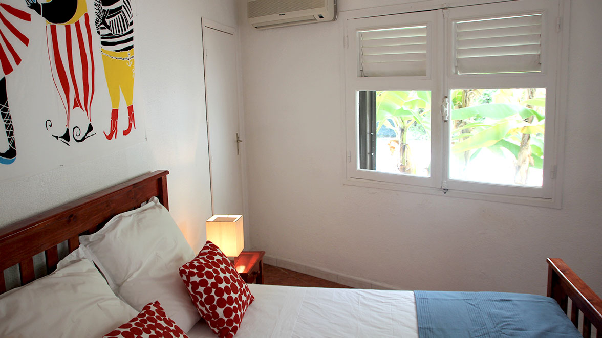 Chambre Bananier - Villa Caraïbes - Location de villas et maisons en Guadeloupe - www.villacaraibes.fr